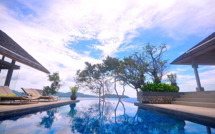 Samsara Estate – Contemporary 6-Bedroom Oceanfront Villa