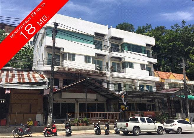4-Storey Apartment Building with 8 Suites and Restaurant in Patong