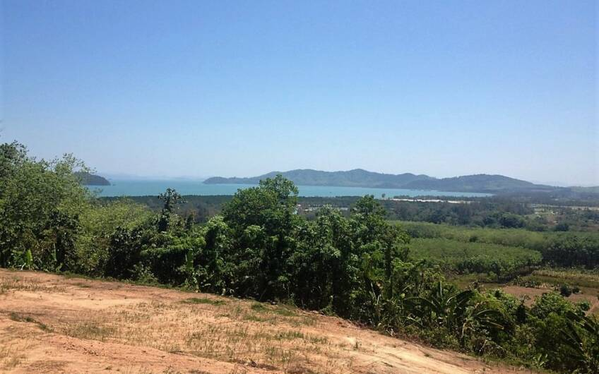 6 Rai of Seaview Land near Mission Hills Golf Course – only THB 3.5m per Rai