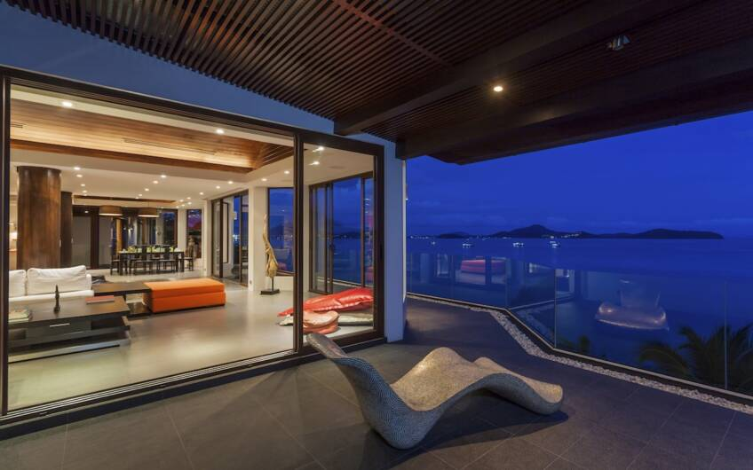 Villa Hollywood – Substantial 7-Bedroom Oceanfront Villa at Makham Bay