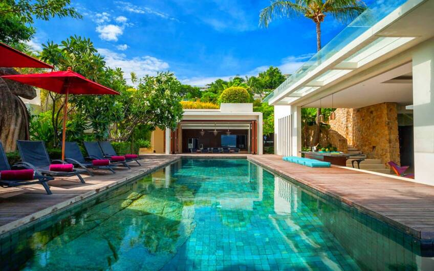 The Rock House – Stunning 5-Bedroom Sea View Villa on Koh Samui