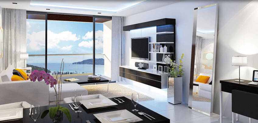 Absolut Twin Sands – Outstanding 1 & 2 Bedroom Seaview Condominium in Patong – BEST INVESTMENT