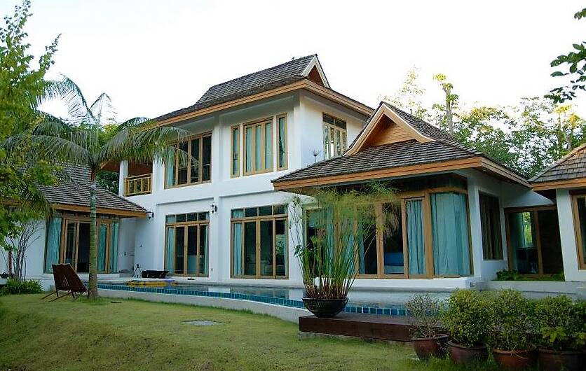 Thai-Bali Style Double-Storey Pool Villa in Chalong on 600 sqm Land Plot – PRICE CUT