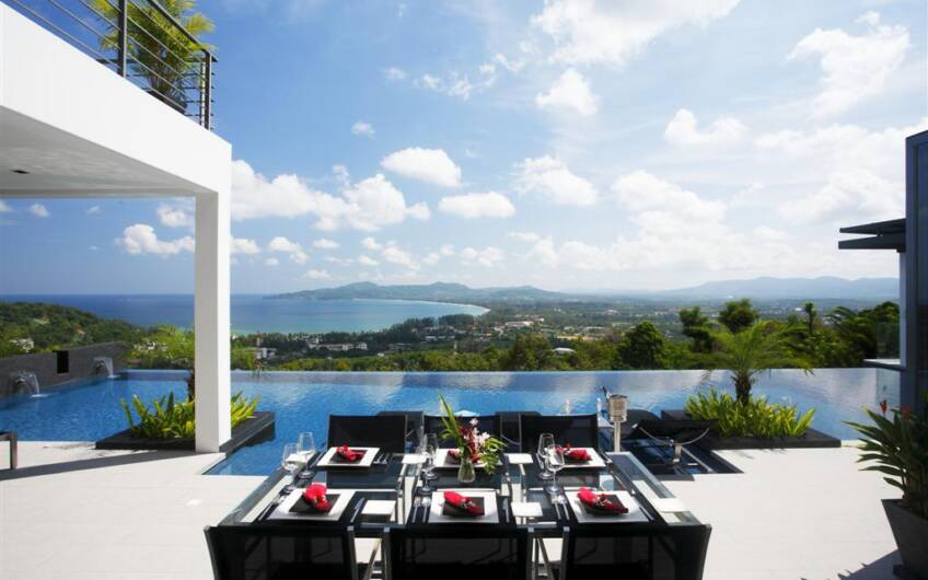 Villa Zamani – An Ultra-Luxury 8-Bedroom Sea View Villa overlooking Surin Beach