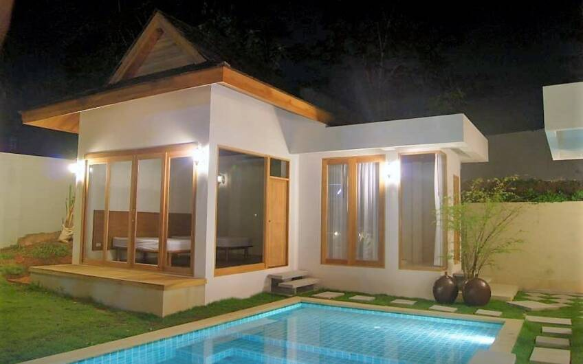 Tewana – Attractive Bali-Style 3-Bedroom Pool Villa in Chalong