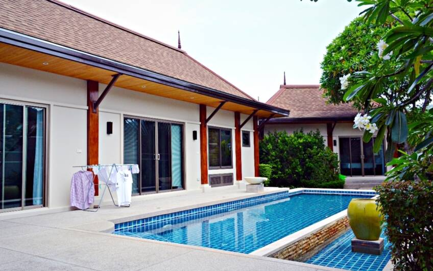 Two Villas The Grand – Contemporary Thai-Style 3-Bedroom Pool Villa in Naiharn