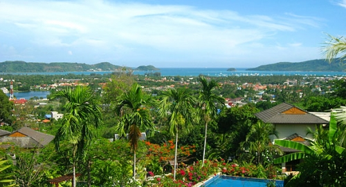 Charming Hillside Boutique Resort of 6 Villas in Chalong for Sale