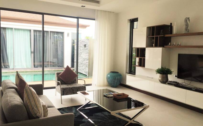 The Lake House – 3-Bedroom Pool Villa in Cherngtalay