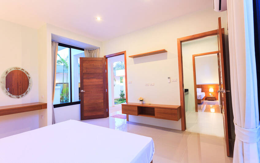 Modern 3-Bedroom Pool Villa in Rawai