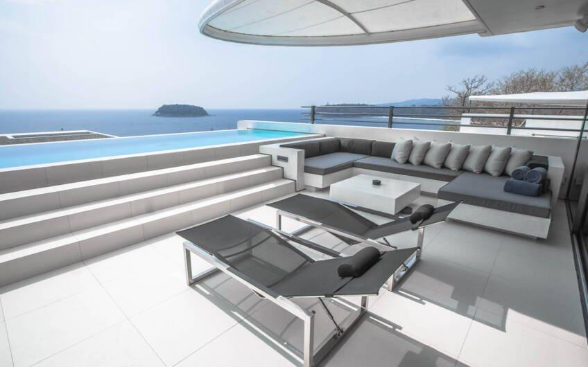 Kata Rocks – Award-winning 3-Bedroom Sky Duplex Villa