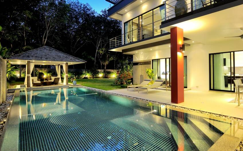 Diamond Trees – New Private Pool Villa 3 Bedroom in Cherngtalay