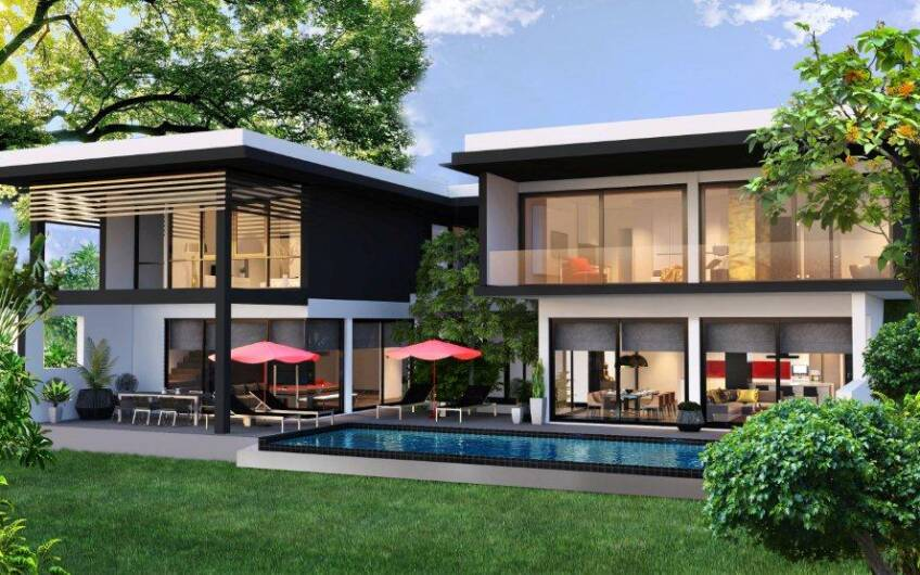 The Pavilion – Spectacular Hotel-Serviced 3-Bedroom Pool Villas on Layan Hill