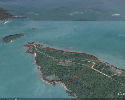 Headland of 8.8 Rai on Koh Yao Noi Island