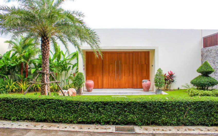 Layan Hills Estate – Contemporary 4-Bedroom Pool Villa