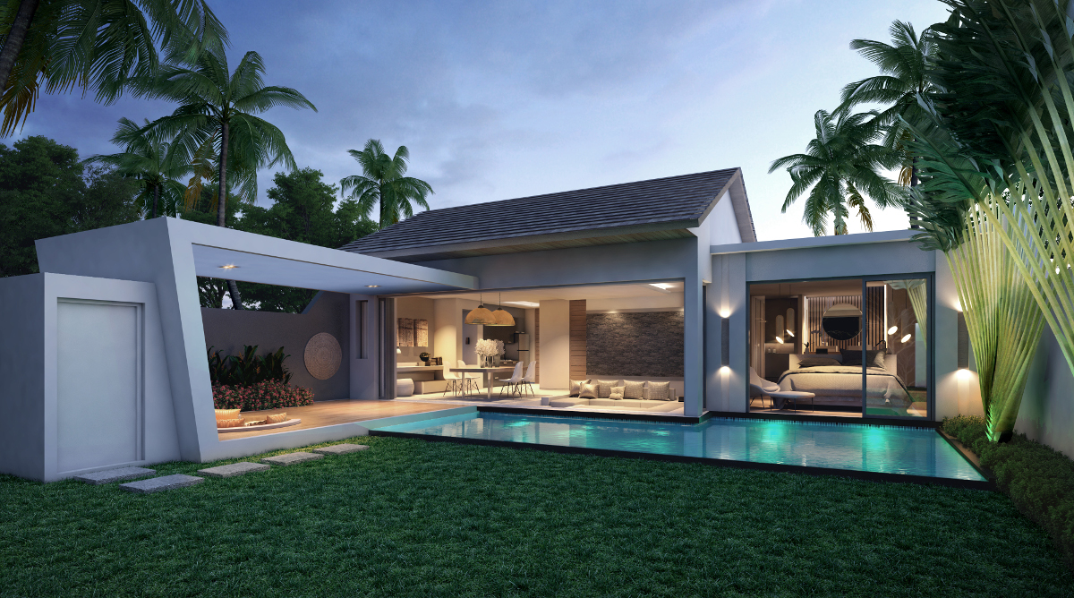 Cocoon Villas - New Development of 2 & 3-Bedroom Pool Villas in Naithon