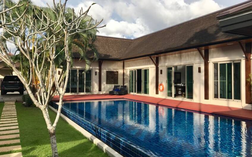 Oriental Villa Tara – Renovated 3-Bedroom Pool Villa in Layan