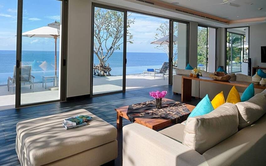 The Aquila – Magnificent 7-Bedroom Oceanfront Villa at Waterfall Bay Kamala