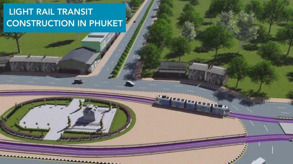 Development of the Light Rail Transit in Phuket, EIA in Process