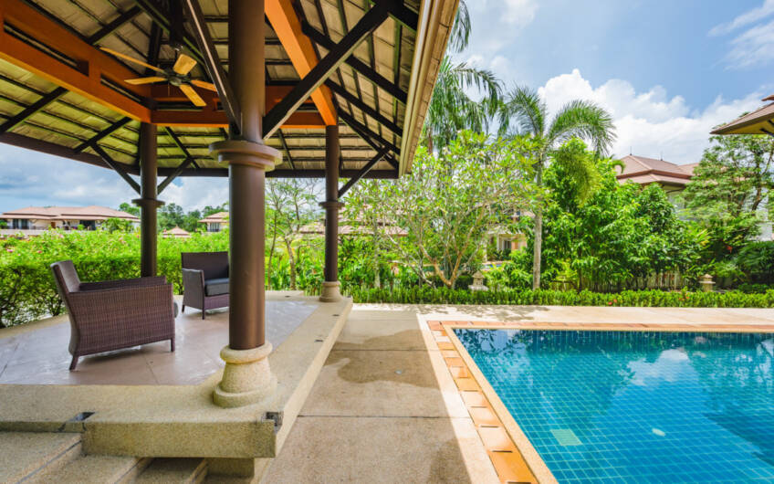 Laguna Village Residence – Substantial 4-Bedroom Lakeside Pool Villa in Laguna – SOLD