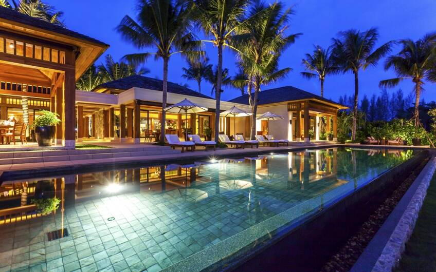 Absolute Beachfront – Superb 5-Bedroom Villa on Natai Beach — SOLD —