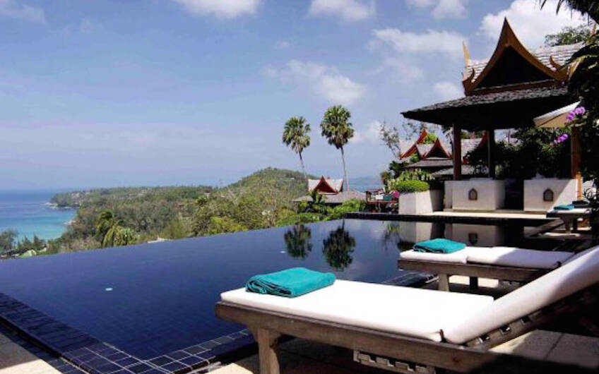 Ayara Hilltops – Stunning 4-Bedroom Sea View Villa in Surin