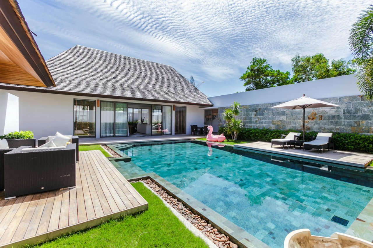 Anchan Lagoon - Extended 3-Bedroom Pool Villa in Layan - FINANCING AVAILABLE