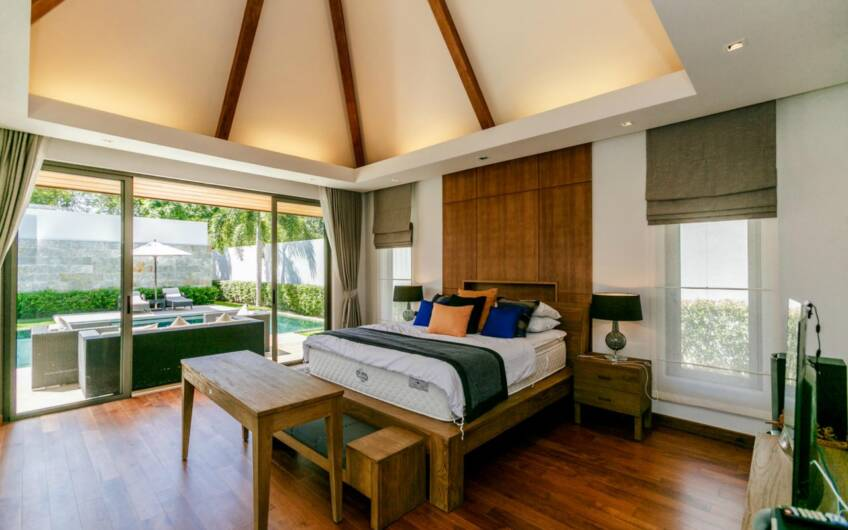 Anchan Lagoon – Extended 3-Bedroom Pool Villa in Layan – FINANCING AVAILABLE