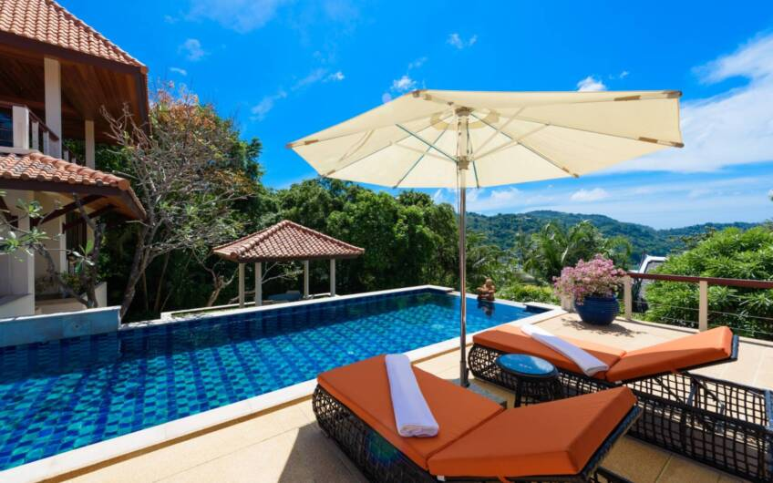 Katamanda – Refurbished 5-Bedroom Sea View Villa overlooking Kata Noi Beach