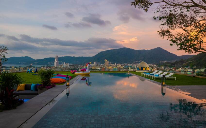 Spectacular Brand New 5-Bedroom Sea View Villa in Patong