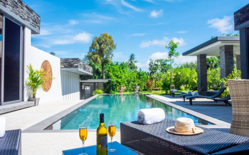 Villas by the Big Bamboo – New High-Quality 4-Bedroom Pool Villa – Ready to Move In