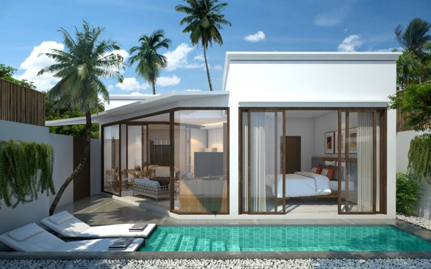New 2-Bedroom Boutique Resort Villas in Nai Harn – Perfect for Investment