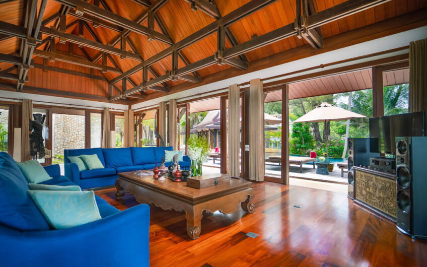 Villa Chada – Magnificent 6-Bedroom Oceanfront Villa at Laemson Estate Kamala