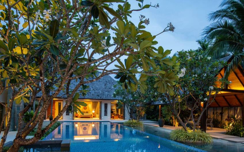 Grand Courtyard Residence – High-End 7-Bedroom Pool Villa in Layan