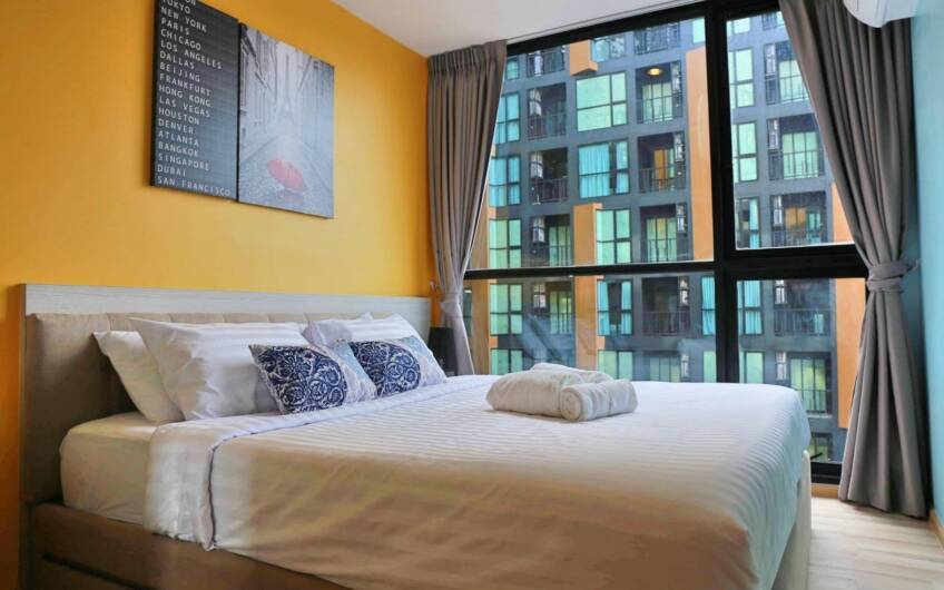 The Base Height – Tastefully Styled 8th Floor 1-Bedroom Apartment in Phuket Town