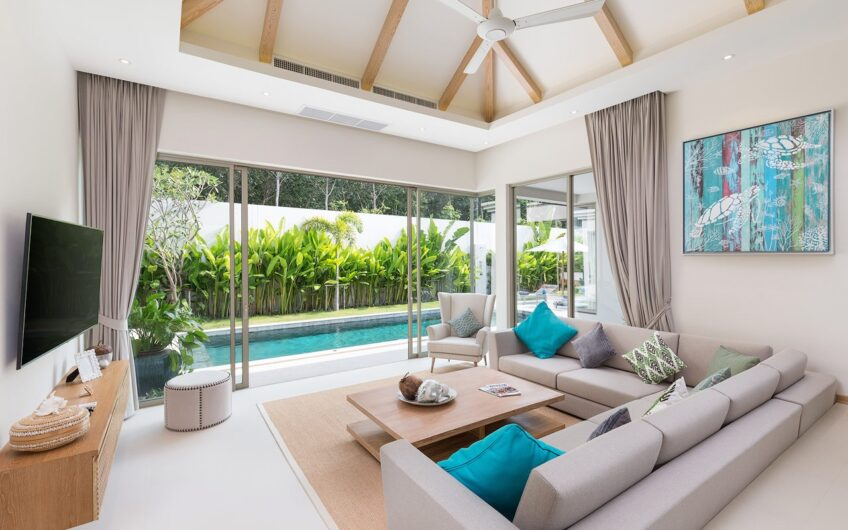 Trichada Tropical – Delightful 3-Bedroom Pool Villa in Cherngtalay