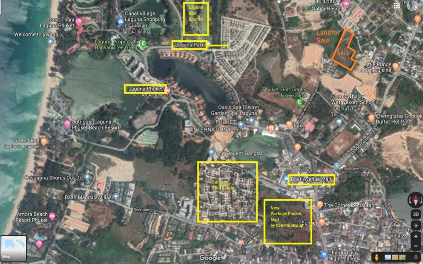 11 Rai of Prime Development Land in Cherngtalay / Phuket