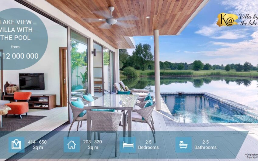 KA Villas by the Lake – New Development of 2-5-Bedroom Lakeside Pool Villas in Natai (Phang Nga)