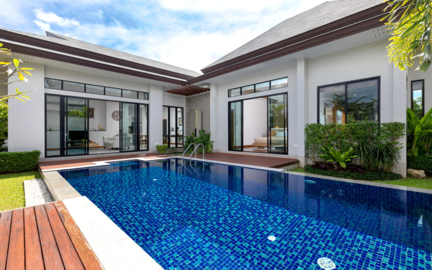 Tanode Estate – High-Quality 3-Bedroom Pool Villa in Layan – Popular Location