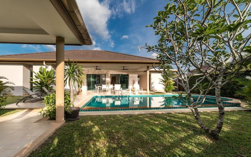 High-Quality 4-Bedroom Pool Villa in Cherngtalay