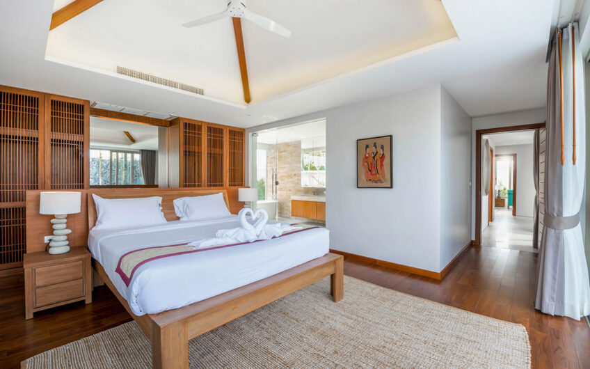 Botanica The Nature – Elegant New 3 & 4-Bedroom Pool Villas in Cherngtalay – Financing available