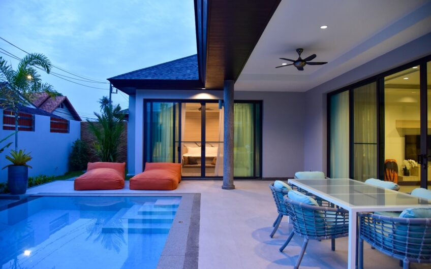 New 3-Bedroom Pool Villa for Rent in Cherngtalay