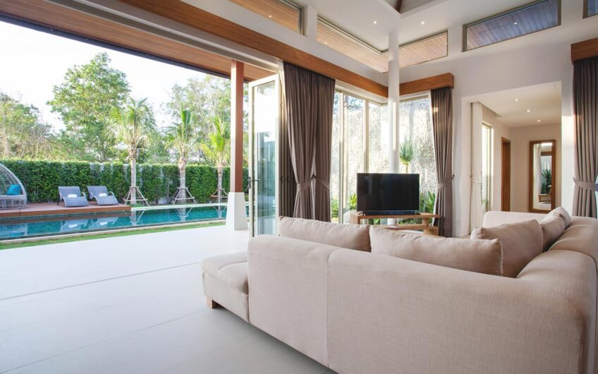 Botanica Lakeside – Exclusive New 3 & 4-Bedroom Pool Villas in Layan