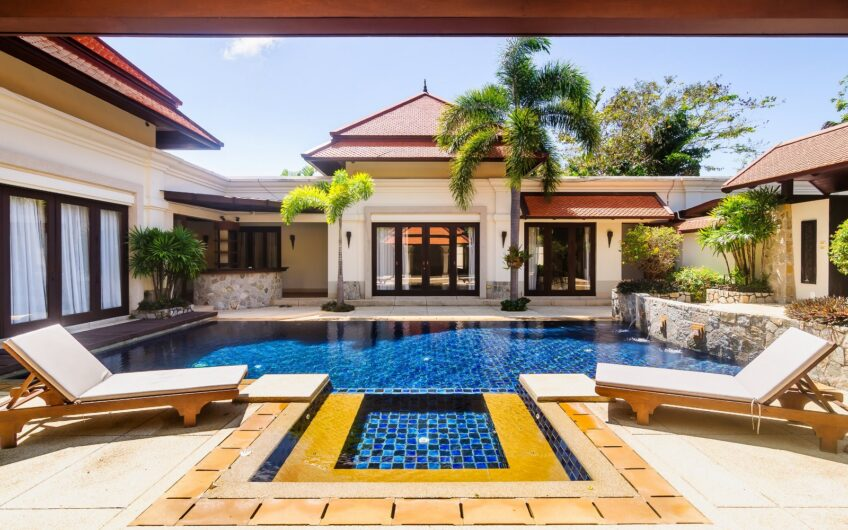 Sai Taan – Well-Presented 3-Bedroom Pool Villa near Bang Tao Beach Phuket