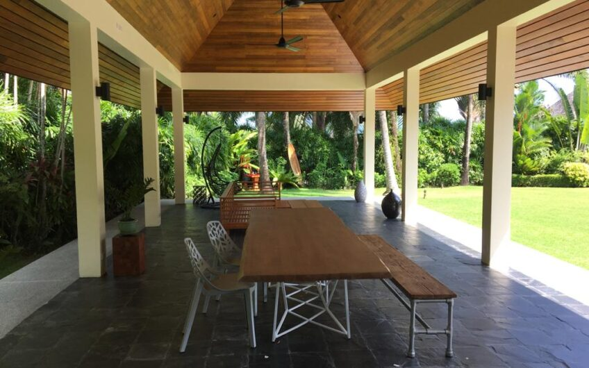 Layan Hills Estate – Large Modern 5-Bedroom Pool Villa in Cherngtalay